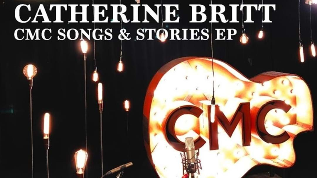 "Article heading image for Catherine Britt Releases First Acoustic Recording ""Swinging Door"""