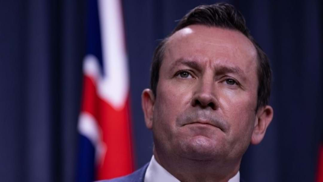 Article heading image for Mark McGowan Refuses to Be Bullied on Borders
