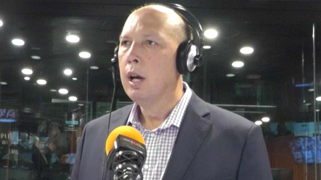 """Article heading image for Peter Dutton Tells Triple M's Hot Breakfast He's """"The Best Person To Lead The Party"""""""