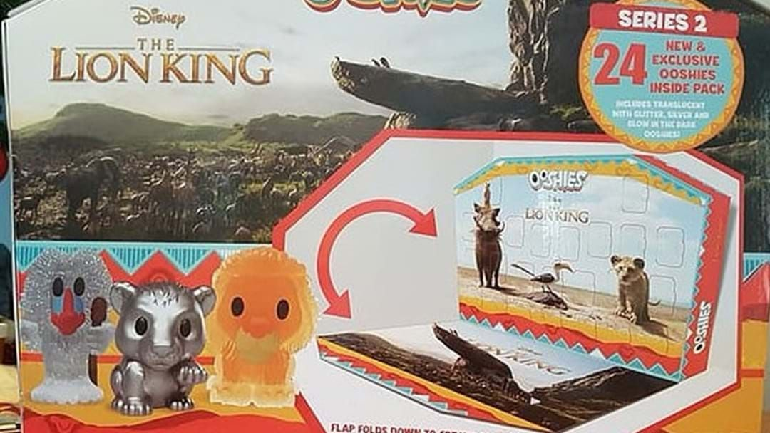 Article heading image for Woolworths Has Released A New Lion King Ooshies Advent Calendar!