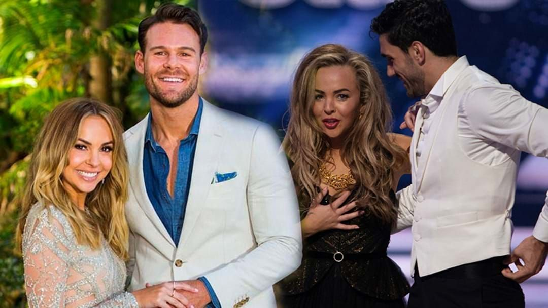 Article heading image for Bachelorette Angie Kent Opens Up About Why Boyfriend Carlin Wasn't At DWTS To Support Her!