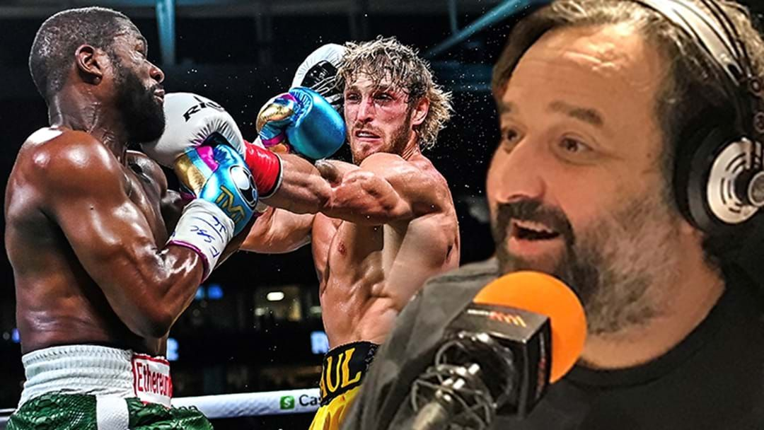 Article heading image for Mick Molloy Slams The Floyd Mayweather/Logan Paul Fight!