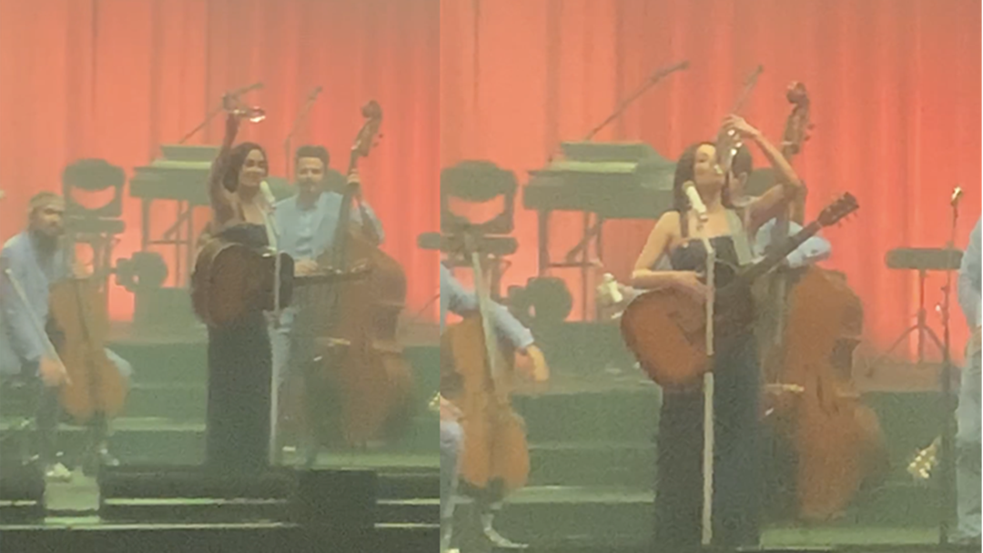 Article heading image for Kacey Musgraves Refused To Do It Sydney But Caved in Melbourne at Granted the Audience a Shoey
