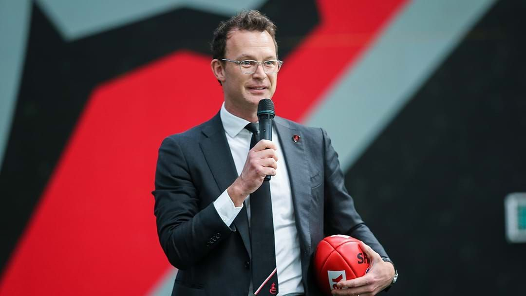 Article heading image for Xavier Campbell Explains How Essendon Found Out A Player Tested Positive