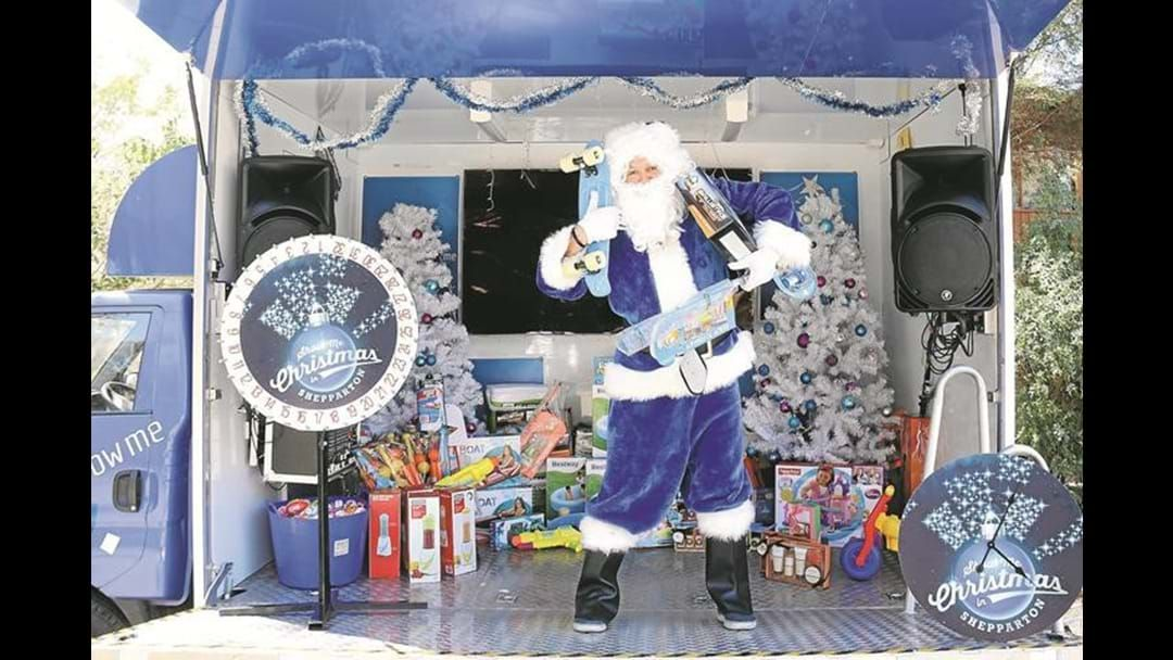Article heading image for Score FREE Gifts In Shepparton With Blue Santa