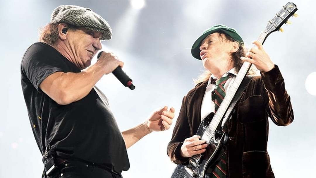 "Article heading image for Brian Johnson To Tour With AC/DC Again After ""Tour Poster"" Leaks"
