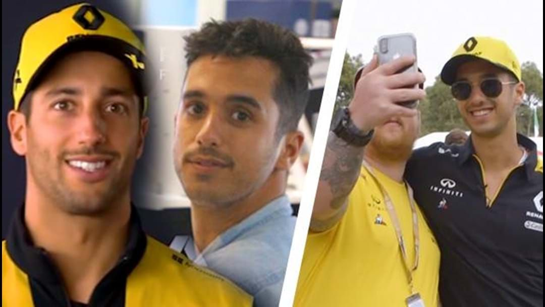 Article heading image for We Took A Fake Daniel Ricciardo To The Grand Prix