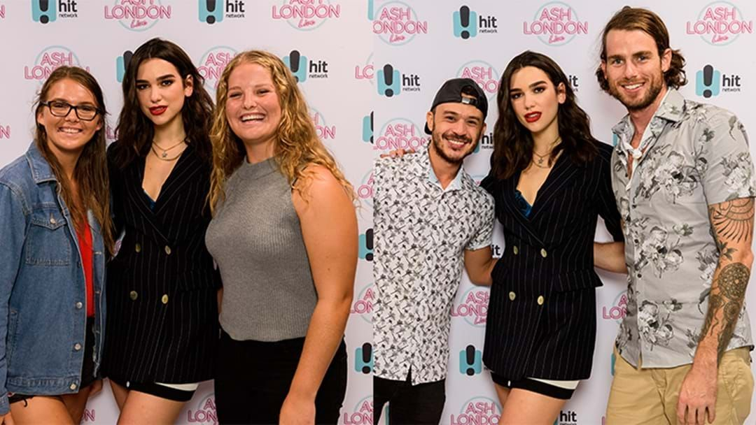 Article heading image for Your Fan Photos with Dua Lipa's Live & Up Close | Ash London LIVE