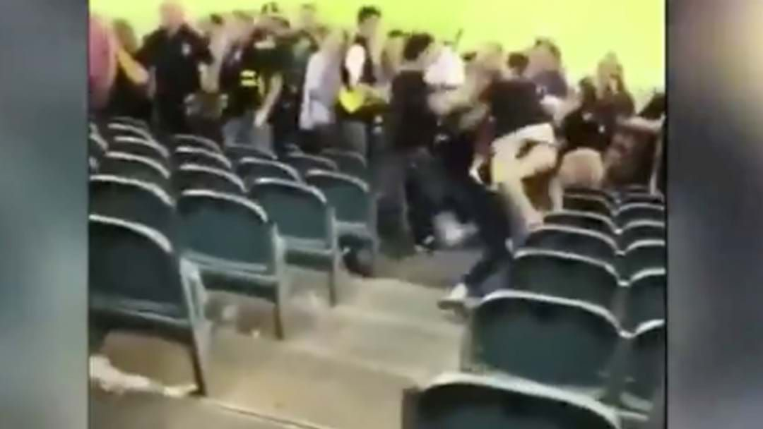 Article heading image for Three Men Charged After AFL Crowd Brawl