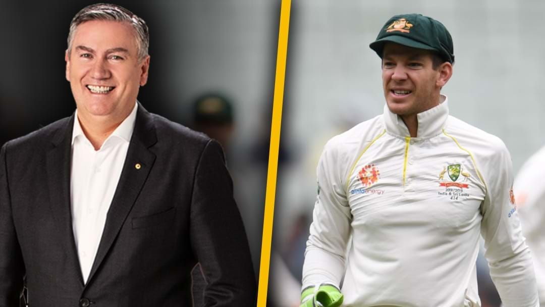 Article heading image for Eddie McGuire & Tim Paine Address Their Feud From Years Ago