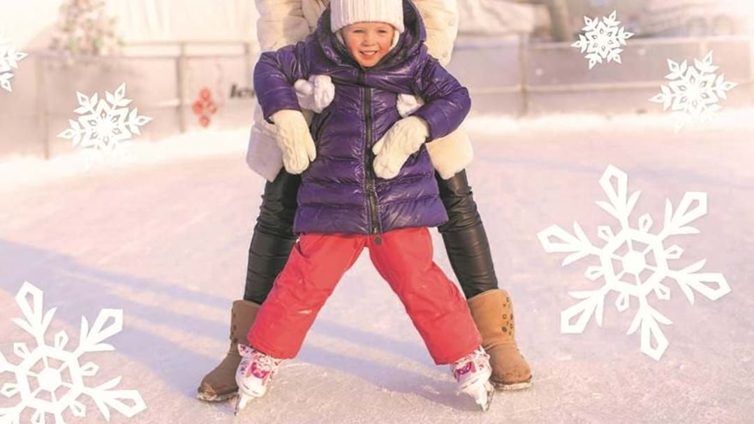 Article heading image for Take Your Kids Iceskating For FREE At This Brisbane Shopping Centre Over School Holidays
