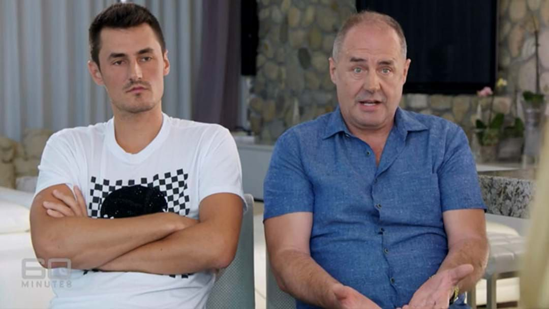 Article heading image for Bernard Tomic Says He Was Intimidated By Lleyton Hewitt When He Was 16
