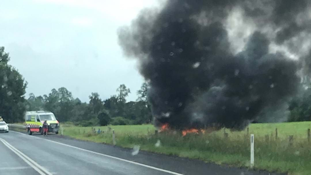 Article heading image for Car Burst into Flames at Bellingen