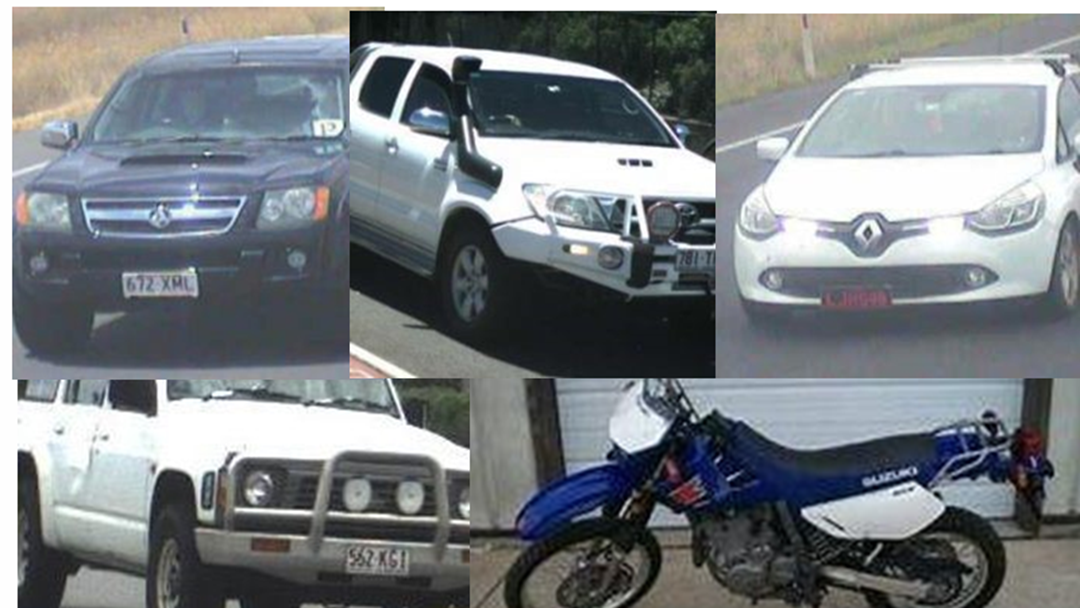 Article heading image for Police Are Asking You To Be on the Lookout for These Five Stolen Vehicles