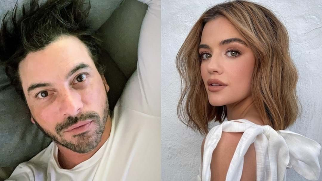 Article heading image for Turns Out 90s Heartthrob Skeet Ulrich Is Ironically Dating PLL Star Lucy Hale
