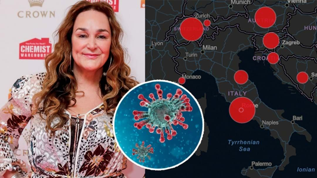 Article heading image for Kate Langbroek May Have Come In Contact With Coronavirus