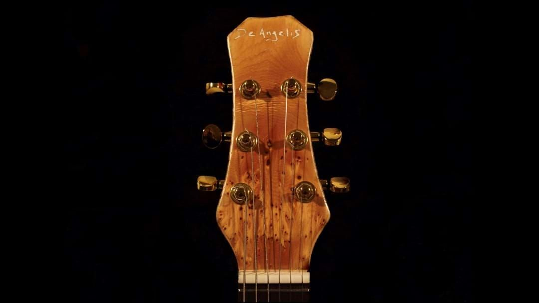 Article heading image for A Young Craftsman Making The Most Of Isolation By Building Guitars.