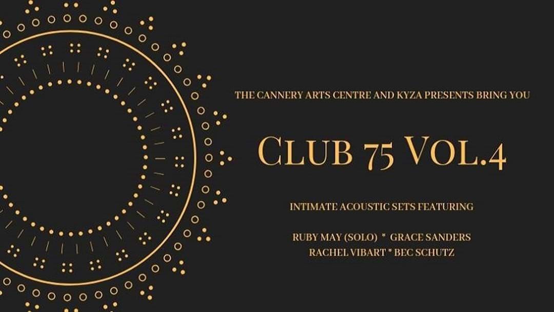 Article heading image for Club 75 Volume 4 at the Cannery