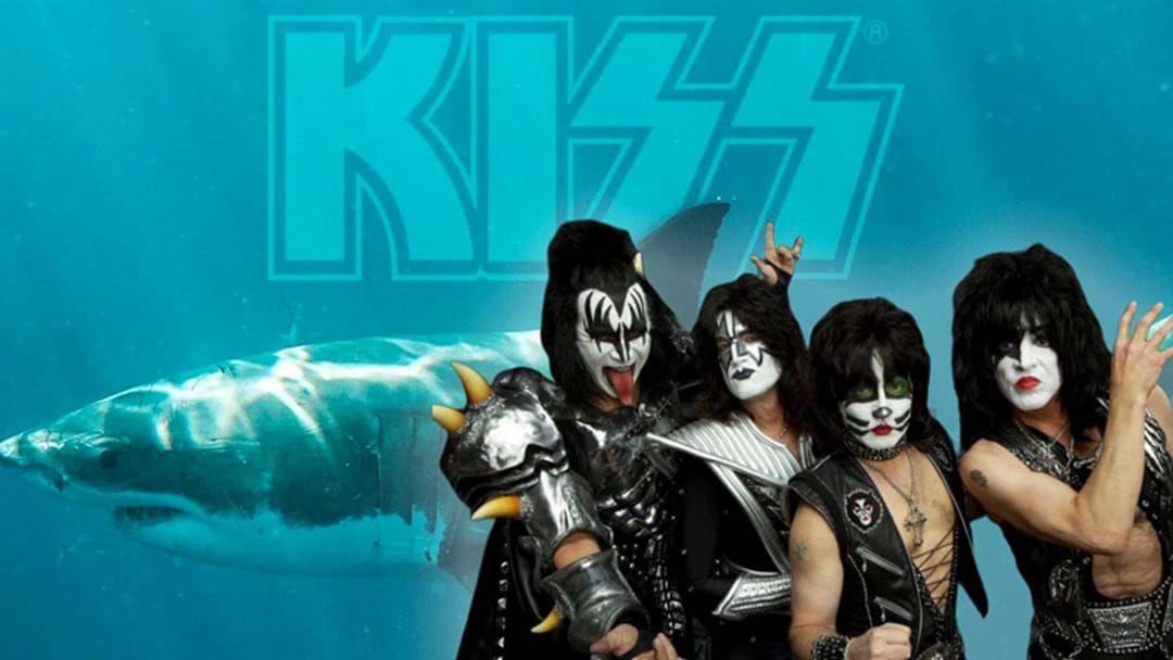 "Article heading image for Legendary Rock Band KISS Announce Gig For Our Great Whites At ""Shark Rock City"""