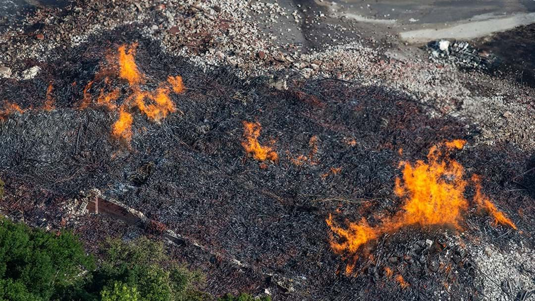 Article heading image for Jim Beam Warehouse Fire Destroys 45,000 Barrels Of Bourbon
