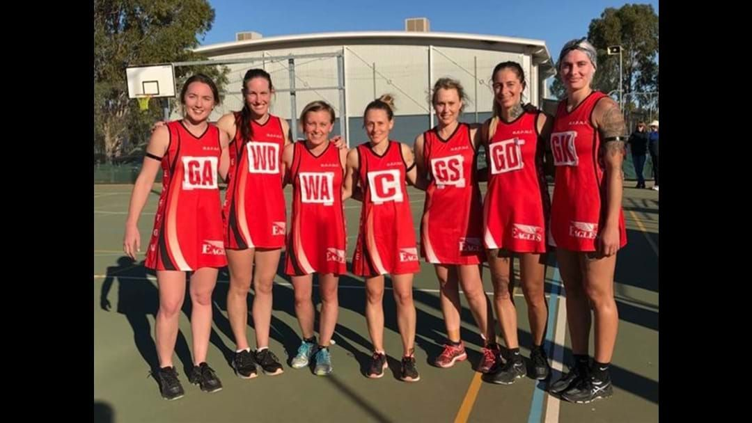 Article heading image for Robinvale-Euston score at the 2017 Australia Post One Netball Community Awards