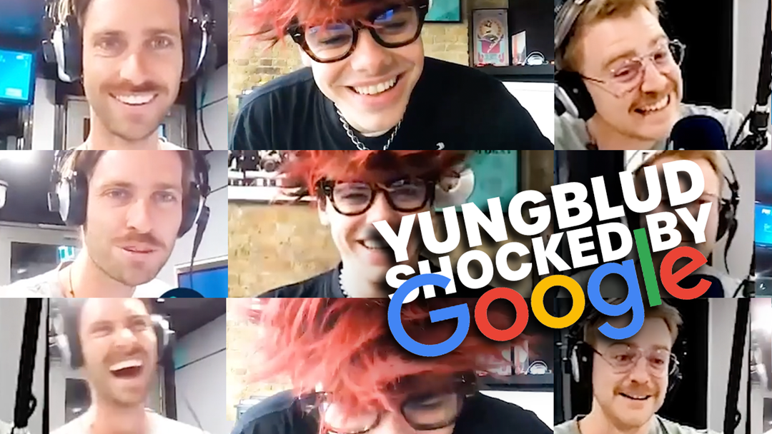 Article heading image for YUNGBLUD is shocked by Google
