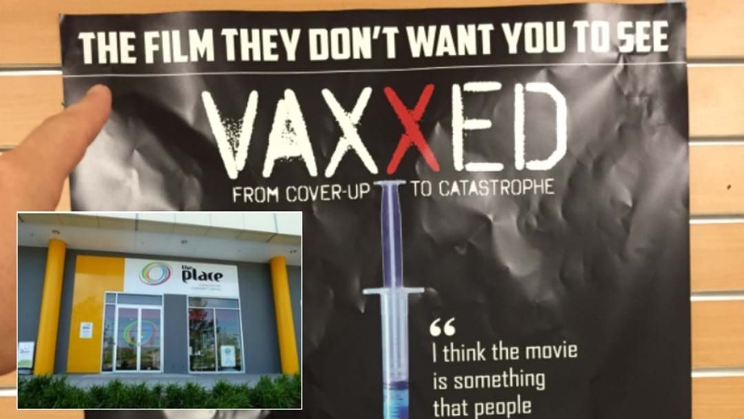 Article heading image for Outrage Over Anti-Vax Doco Screening At Charlestown