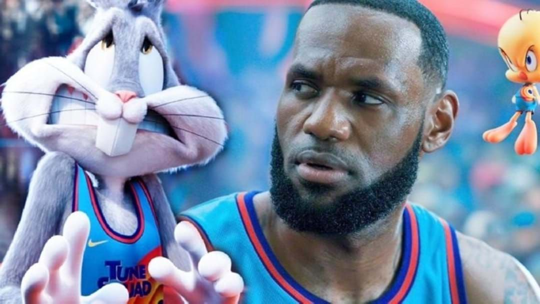 Article heading image for LeBron James Just Gave Us A Sneak Peak Of The New Space Jam Movie!