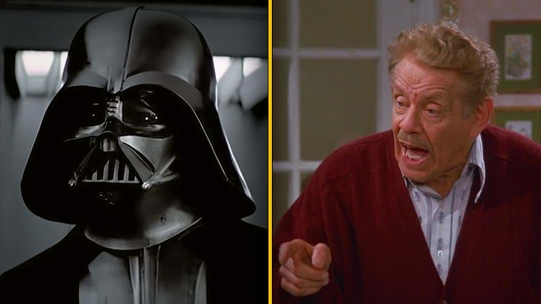 Article heading image for Darth Vader Being Voiced By Frank Costanza Is The Funniest Thing You'll See Today