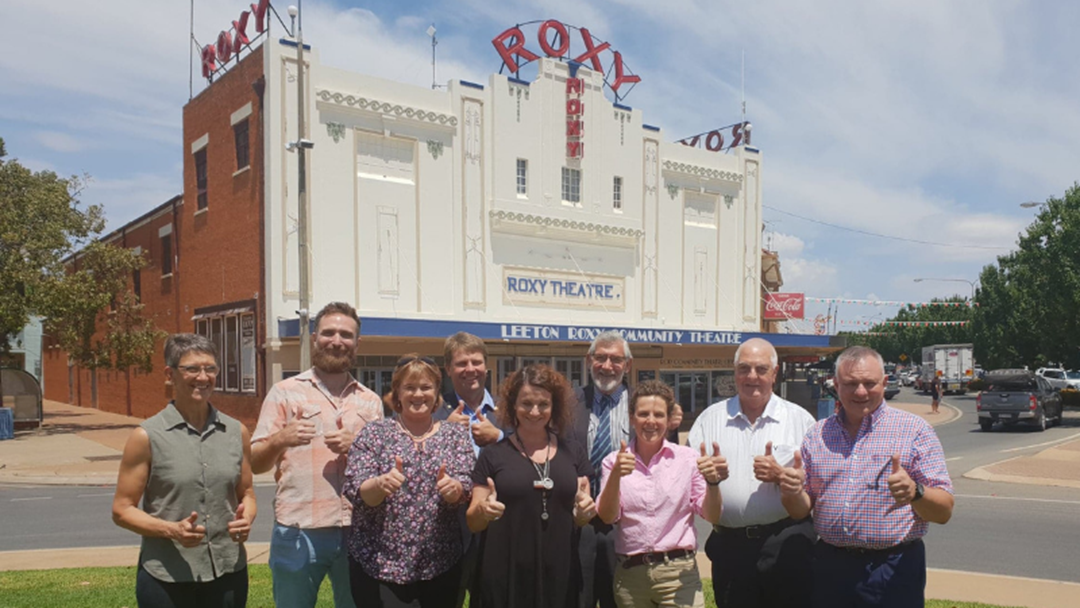 Article heading image for Historic Roxy Theatre Receives Solid Investment