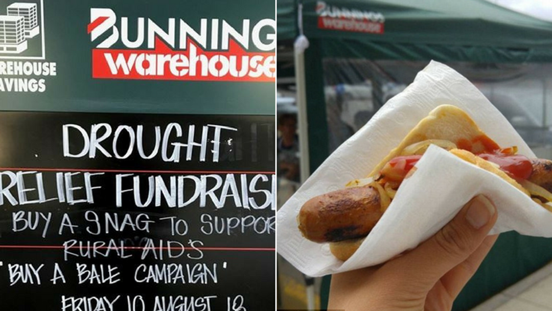 Article heading image for The Nationwide Bunnings Sausage Sizzle For Rural Aid