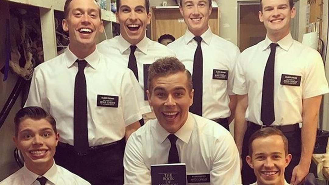 Article heading image for Book Of Mormon Tickets Are Going For Just $20 In Brisbane