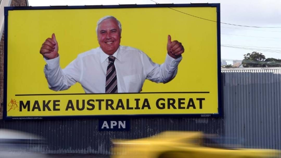 Article heading image for Clive Palmer's $60 Million Election Spend With Craig Kelly Taking Centre Stage