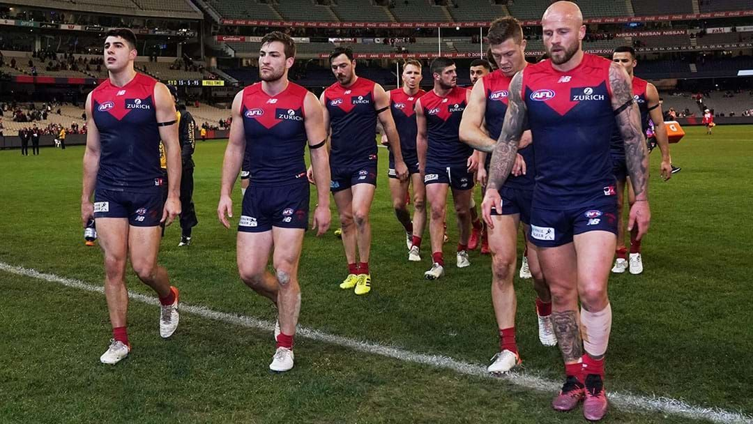 """Article heading image for Joey Montagna Says Melbourne's Late Season Effort Shows They """"Still Don't Get It"""""""