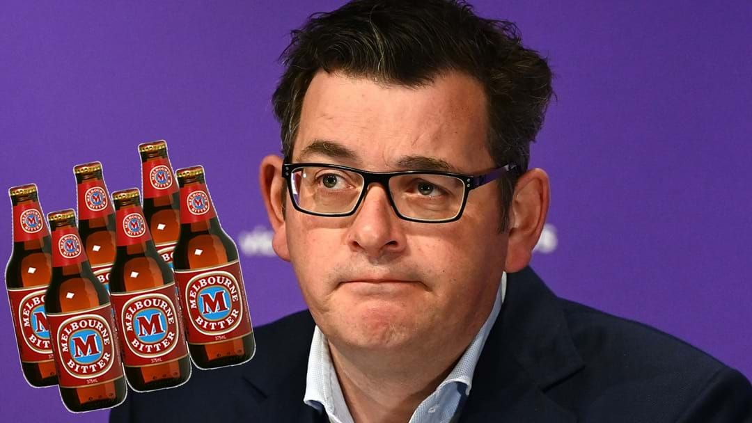 Article heading image for Dan Andrews Talks Beers, Bangers & Budgets With Fifi, Fev & Byron!