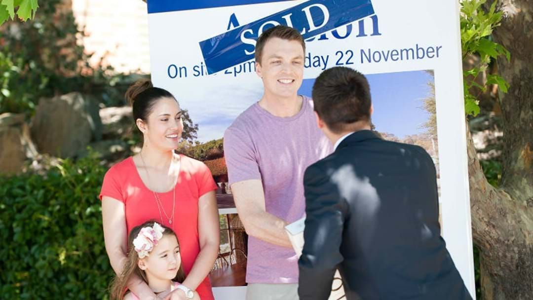 Article heading image for HOUSES FLY OFF THE MARKET IN CANBERRA