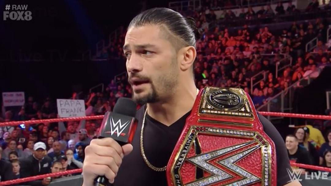 Article heading image for WWE Star Roman Reigns Reveals He Is Battling Leukemia
