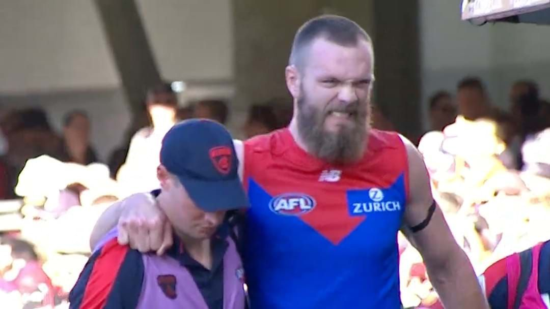 Article heading image for Max Gawn Has Been Withdrawn From This Afternoon's Game