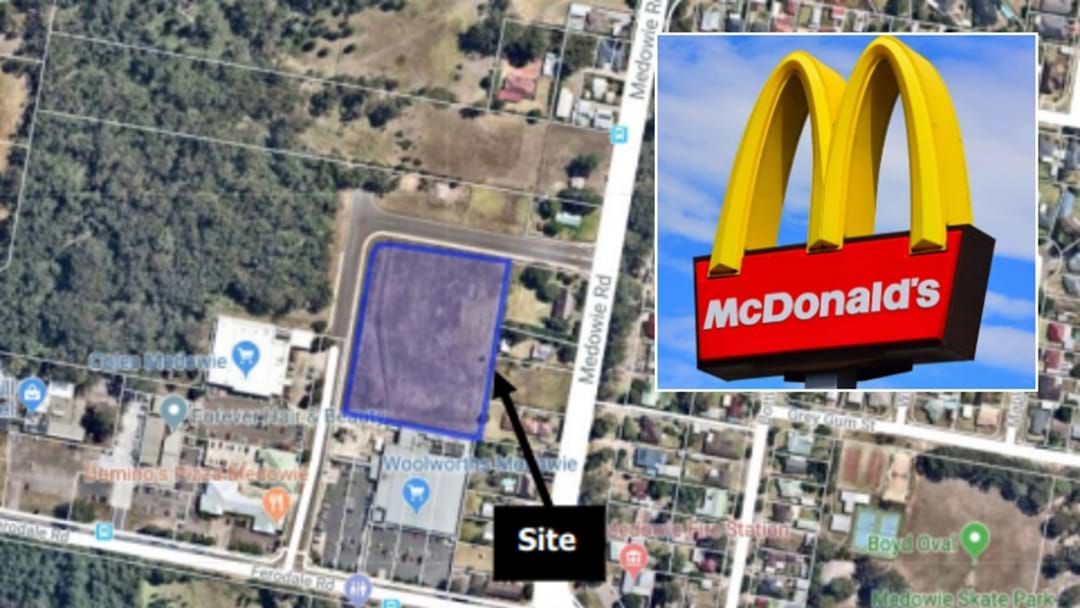 Article heading image for Medowie's Getting A McDonald's!