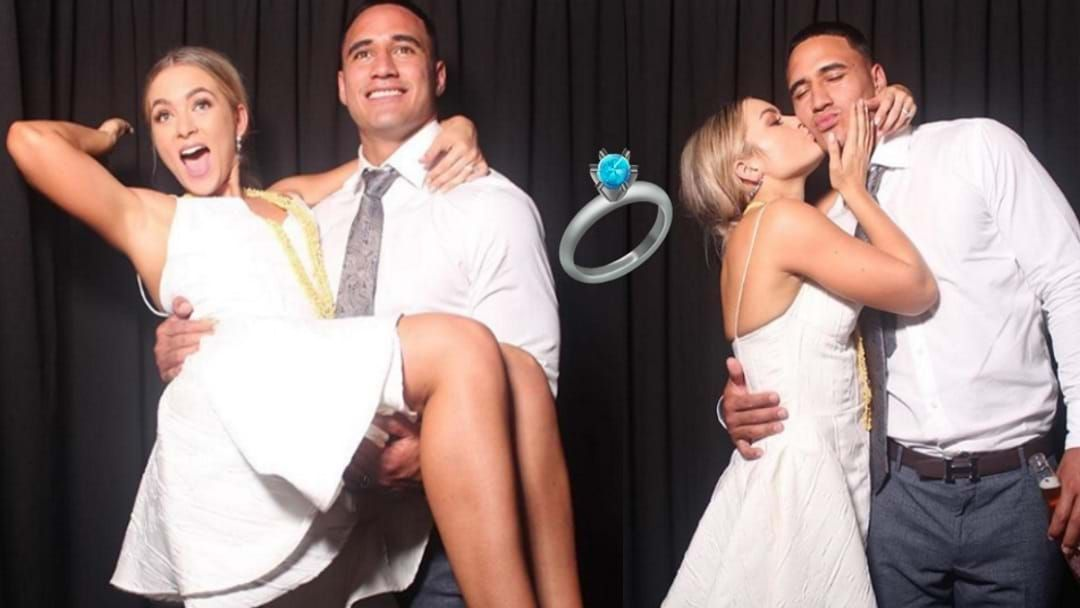 Article heading image for Townsville's Val Holmes Has Married His High School Sweetheart