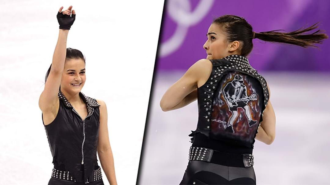 Article heading image for A Hungarian Ice Skater Performed To An AC/DC Song At The Winter Olympics