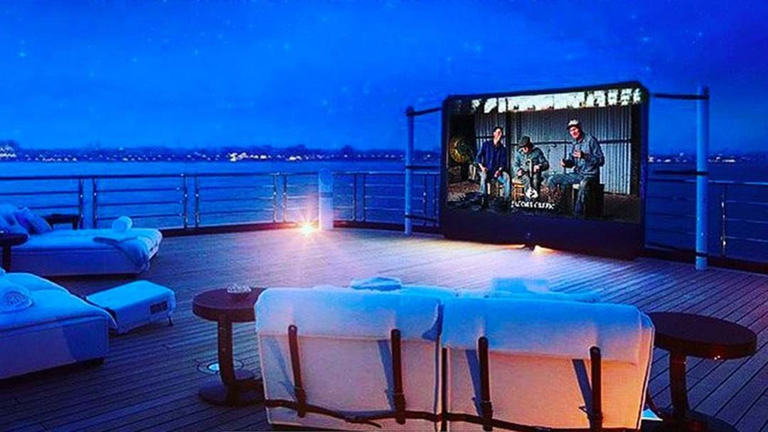 Article heading image for A Luxurious Floating Cinema Is Coming To King Street Wharf!