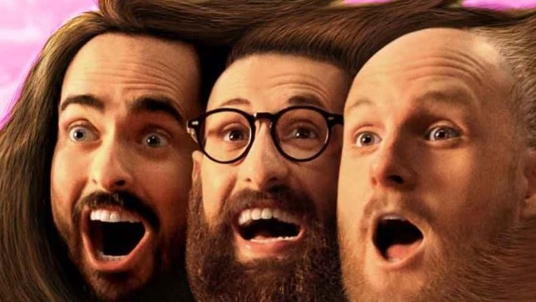Article heading image for Who is Aunty Donna's Famous US Fan?