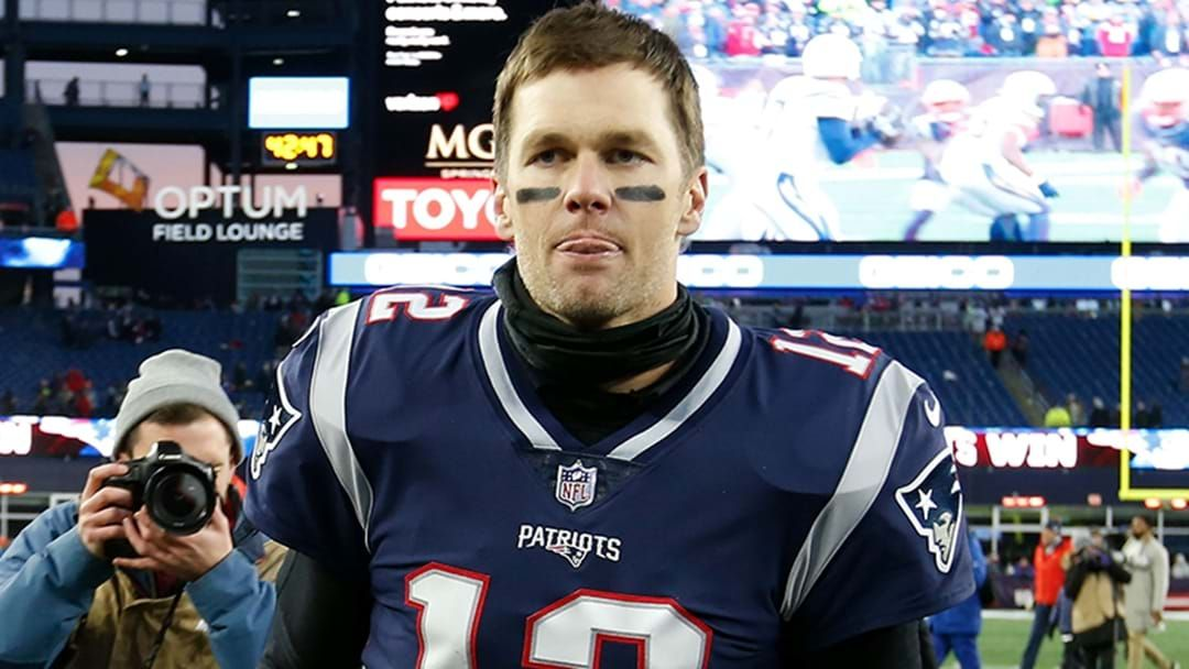 Article heading image for LISTEN | Luke Darcy Explains What Reaction He's Getting In The US For Looking Like Tom Brady