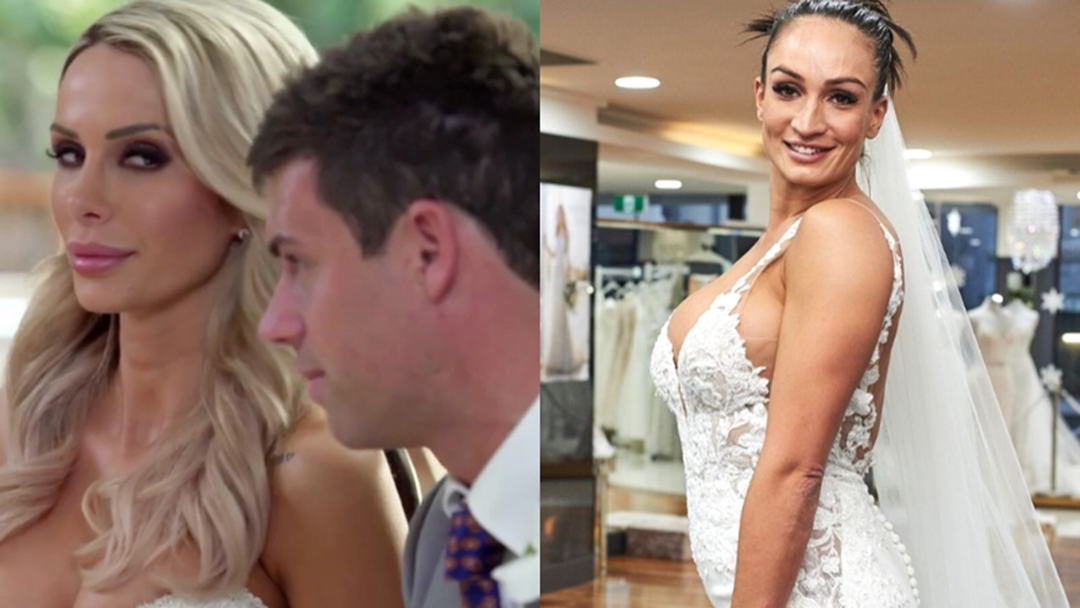Article heading image for Jessika Power Says Stacey & Michael Made Up This Rumour About MAFS Bride Hayley