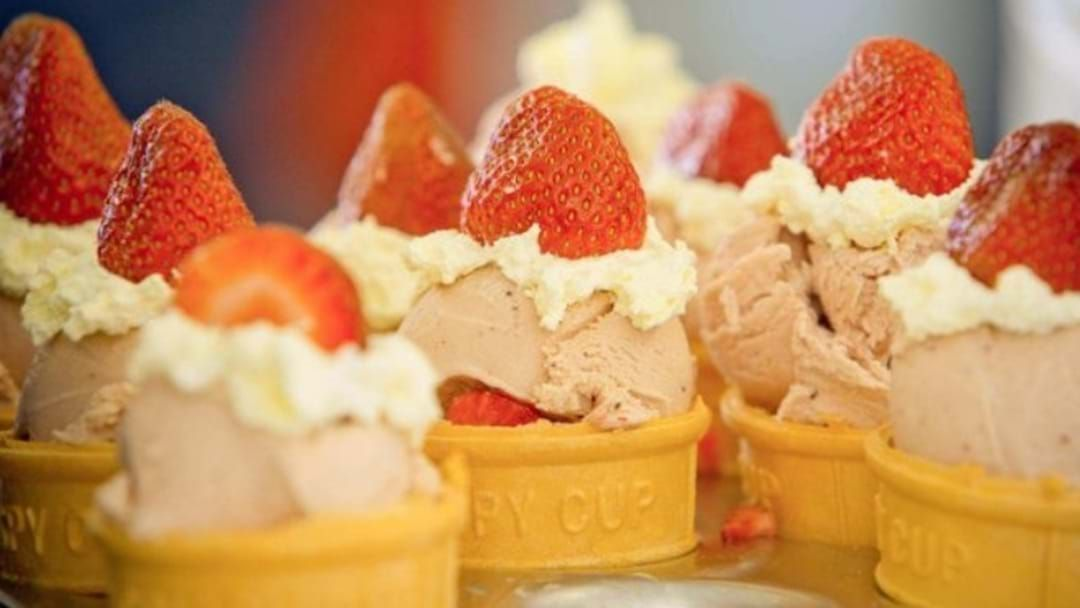 Article heading image for A One Off Strawberry Sundae Sale To Support Struggling Farmers