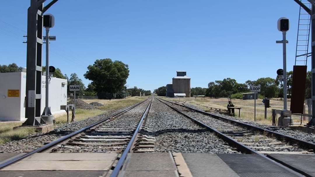 Article heading image for Truck and Train Collide At Scone Level Crossing