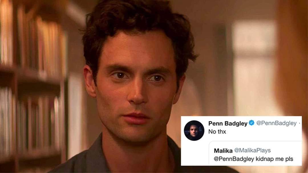 Article heading image for  Penn Badgley Is Getting Really Creeped Out By People Romanticising His Character In 'You'