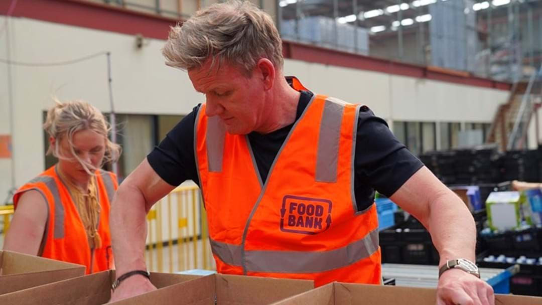 Article heading image for Gordon Ramsay Volunteered At Foodbank To Help Those Affected By Bushfires