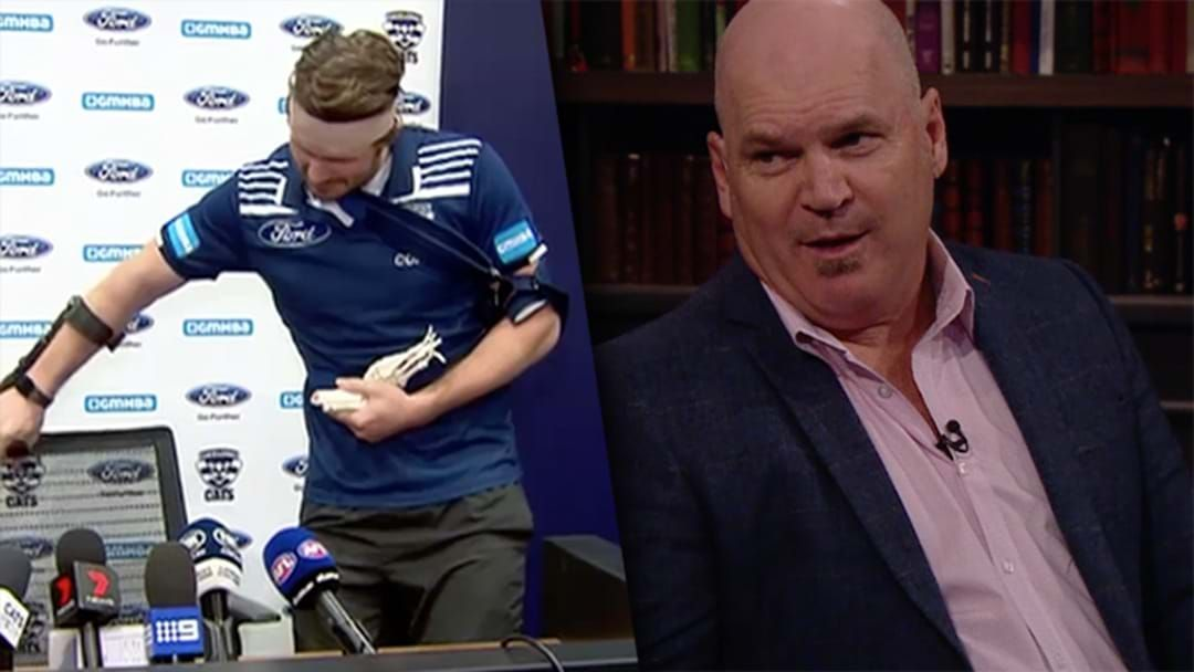 Article heading image for Jason Dunstall Whacks Dangerfield For 'Cringe-Worthy' Press Conference